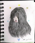 Hello world. Please Love My hair.  Proses pengerjaan rambut seperti dalam gambar diatas biasanya memakan waktu demikian lama untuk saya. Paling cepat ya 20 menit. Semoga lebih cepat lagi kemudian. Ehehe